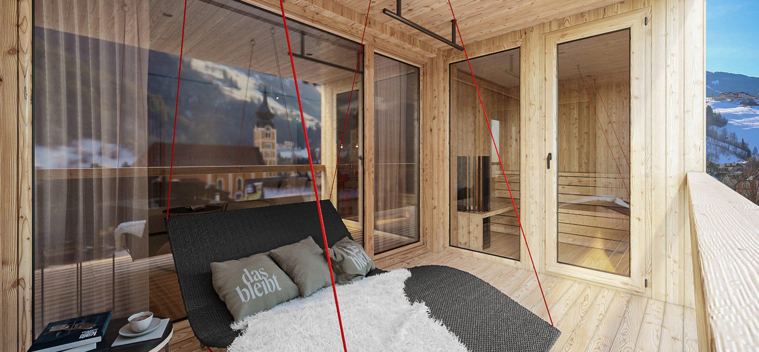 Loggia with Sauna