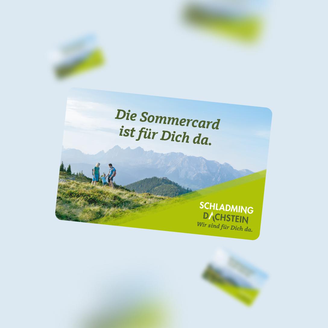 Die Schladming-<br /> Dachtstein<br /> Sommercard.
